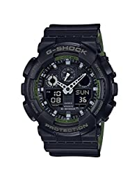 G-Shock GA-100 Military Series Watches - Black / One Size
