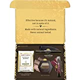 Burt's Bees Essential Everyday Beauty Gift Set, Travel Size Products - Deep Cleansing Cream, Hand Salve, Body Lotion, Foot Cream and Lip Balm