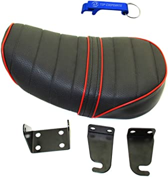 TC-Motor Foam Leather Seat For Honda Z50 Z50J Z50R Z50M Z50Z Monkey Mini Trail Bike Motorcycle