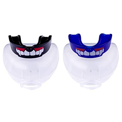 CW/_ Durable Mouthguard Mouth Guard Gum Shield Boil Bite for All Sports MMA Boxin