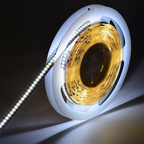 1200 Unit - JOYLIT 120W DC24V SMD2835 1200 Units LEDs Flexible Cool white 6000K LED Tape Strip Lights Non-waterproof LED Light UL CE Rosh Pack of 16.4ft/5m