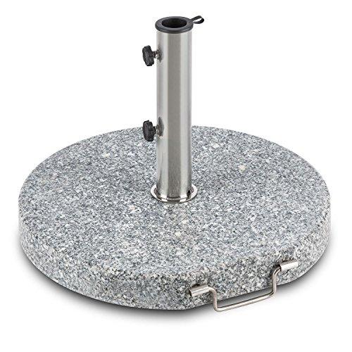 Granit Sonnenschirmständer 30 kg Halter Schirmständer Sonnenschirmhalterung