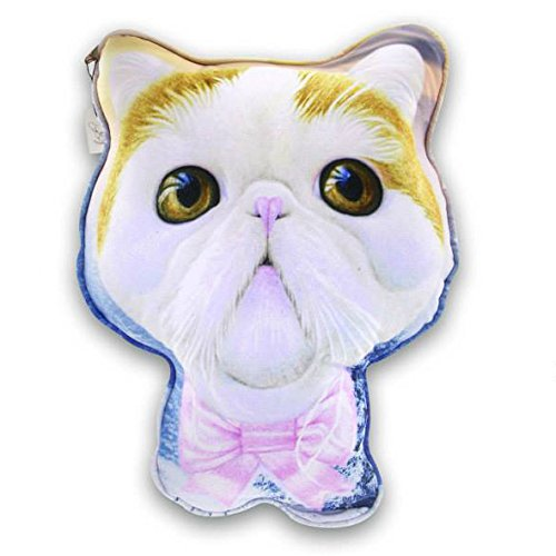 Sansukjai Sketch Persian Cat Printed Pillow 65 cm Dog Lover/Collection/Gift/Home Decor (Gift Basket Ideas After Hip Surgery)