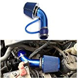 MD Group Car Intake Filter Cold Air Induction Pipe HOSE System Universal Performance Alumimum Green