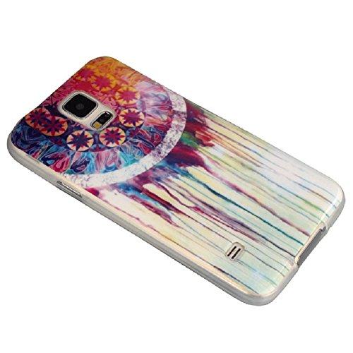 Sannysis(TM)New Skin Dream Catcher TPU Case Cover Case For Samsung Galaxy S5 i9600