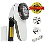 Gissy Studio Portable Fabric Shaver, Electric Lint Remover Clothes Shaver Removes Fuzz Pills From Sweaters, Fabric, Clothing