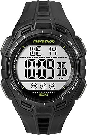 Timex TW5K94800 - Reloj de Pulsera para Hombres, Correa de plástico, Color Negro: Timex: Amazon.es: Relojes