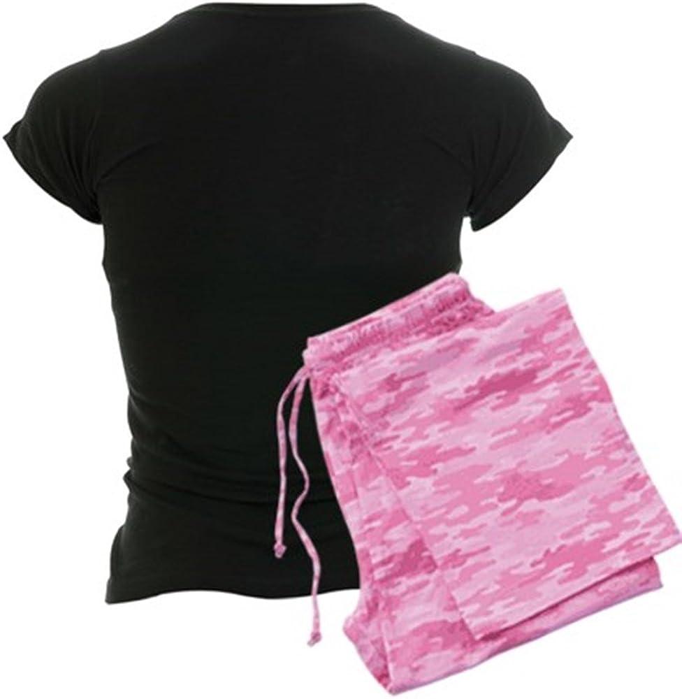 CafePress NB/_French Bulldog Womens Dark Pajamas Womens PJs
