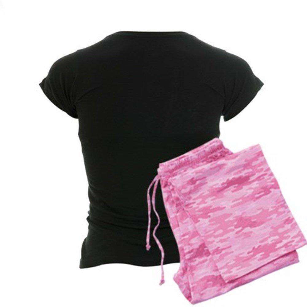 ab171e2133 Amazon.com  CafePress-REAL GIRLS WEAR CAMO Women s Dark Pajamas-Womens  Novelty Cotton Pajama Set