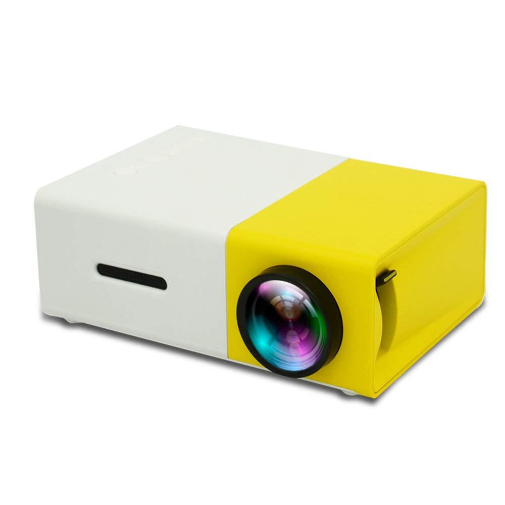 Mini proyector portátil, mini proyector de video LED con soporte ...