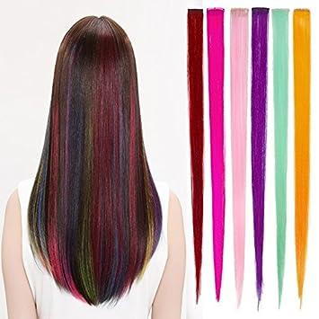 Amazon Com Onwon 24 Pcs Multiple Colors Party Highlights Straight