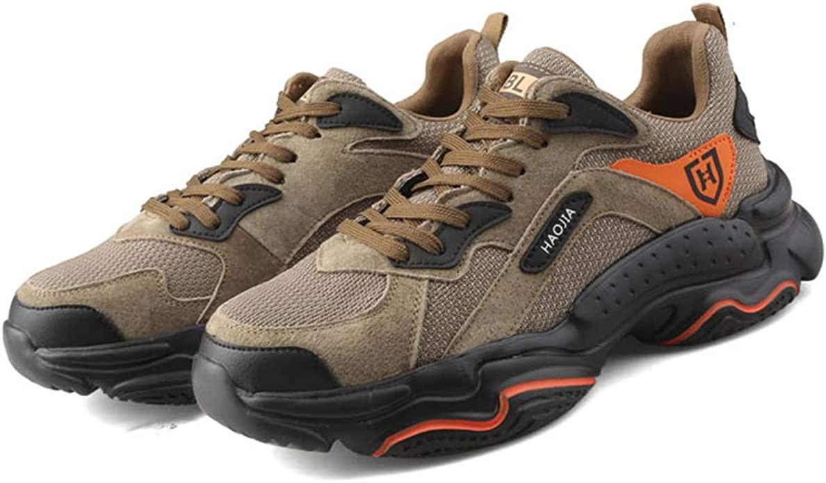 Mens Safety Shoes Steel Toe Cap Work Boots Lightweight Safety Hiking Trainers