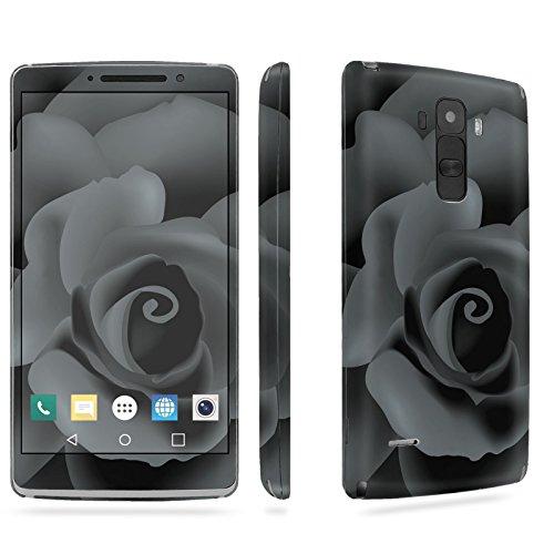 LG [G Stylo] Phone Skin - [SkinGuardz] Full Body Scratch Proof Vinyl Decal Sticker with [WallPaper] - [Black Rose] for LG [G Stylo] [LS770 H631] -  SF-LGLS770-T5-MA-X155