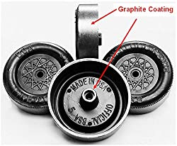 Pinewood Derby Wheels - PRO BSA Ultra-Lite Graphite Coated by Pinewood Pro