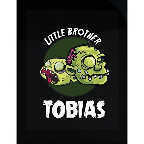 Prints Express Halloween Costume Tobias Little Brother Funny Boys Personalized Gift - Sticker -