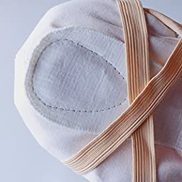 KUKOME-SHOP Canvas Ballet Shoe Girls\' Ballet Flat Split Sole Different Sizes for Children and Adults (EU28/US11=7.09\