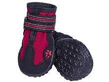 Nobby 75985 – 01 Perros Zapatos Guylines 2 ST, tamaño: XXL, Color Rojo