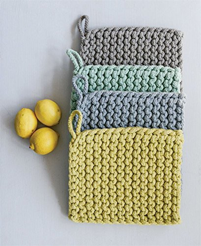 Crocheted Pot Holder - First of a Kind 8