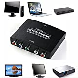 HDMI to YPbPr, YHMBOX 4K HDMI to YPbPr Component 5 RCA RGB Audio Adapter Converter Support for Amazon Fire TV Macbook Apple TV Blu-Ray DVD PS4 Xbox etc.