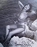 Bettie Page Signed REPRINT 8x10 inch photograph Reprinted from Original PIN UP GIRL