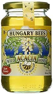 Hungary Bees Wild Acacia Honey 16oz