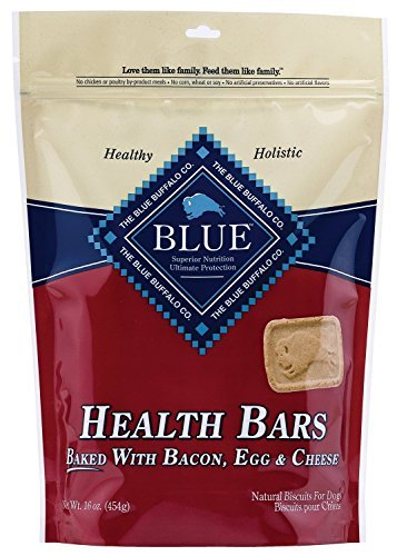 (Blue Buffalo Health Bars for Dogs, Bacon, Egg and Cheese, 16-Ounce)
