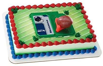 Amazon NFL Seattle Seahawks Football With Tee Cake Decorating