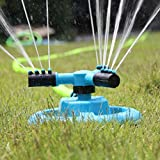 OVERMAL Water Sprinkler,Garden Sprinklers Water Entire Lawn And Garden Without Oscillating Systems Waste Review