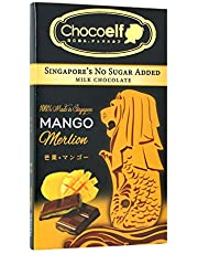 CHOCOELF Chocolate Bar Merlion Series 65g | No Sugar Added | Made in Singapore