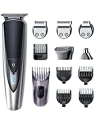 Hatteker Mens Beard Trimmer Kit Body Mustache Trimmer...