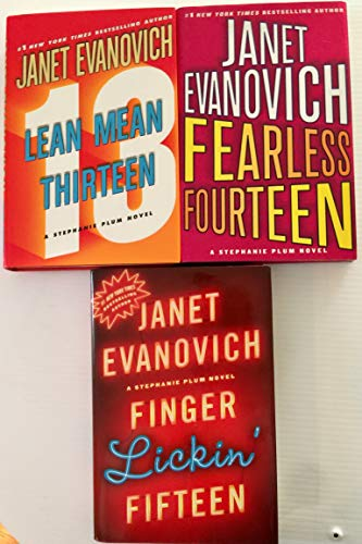 Janet Evanovich Stephanie Plum Series 13-15 (Lean Mean Thirteen, Fearless Fourteen & Finger Lickin' Fifteen) ()