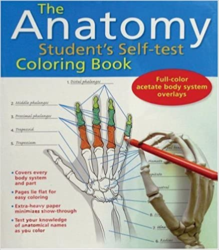 The Anatomy Student\'s Self-Test Coloring Book: 9780764137778 ...