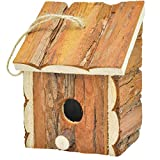 Gardirect Wood Decorative Birdhouse, Hanging Wooden Garden Bird House