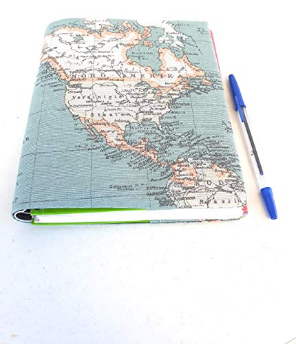 Funda mapa mundi ideal para agendas 2020,Regalo Original ...