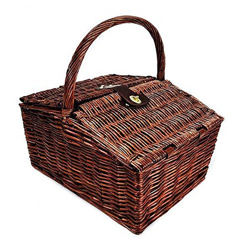 Picnic Fiest Basket (Set of 10) 16 x 12 x 10 in by suppliesforgiftbasket