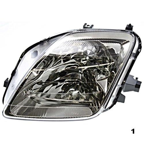 - Aftermarket Fits 97-01 Honda Prelude Left Driver Headlamp Assembly