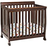 DaVinci Kalani 2-in-1 Mini Crib and Twin Bed In Espresso Finish