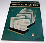 img - for Music for Millions Volume 1: World Famous Piano Pieces book / textbook / text book