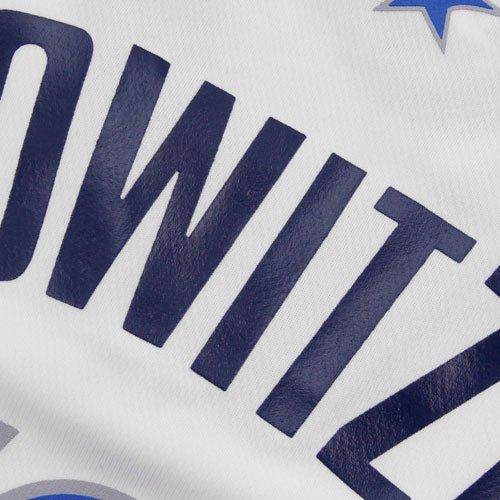 NBA Dallas Mavericks Dirk Nowitzki # 41 Hombres Camiseta de Jersey, XXXXL, Blanco: Amazon.es: Deportes y aire libre