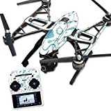 Skin For Yuneec Q500 & Q500+ Drone – Teal Lures | MightySkins Protective, Durable, and Unique Vinyl Decal wrap cover | Easy To Apply, Remove, and Change Styles | Made in the USA