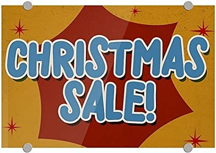 cgsignlab christmas sale nostalgia burst premium acrylic sign - Amazon After Christmas Sale
