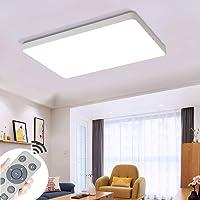 COOSNUG 72W Luz de techo LED Cuadrado blanco