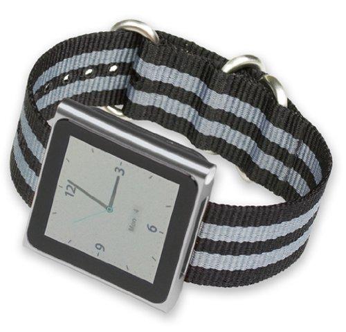ipod-nano-watch-strap-black-w-grey-stripes-nylon