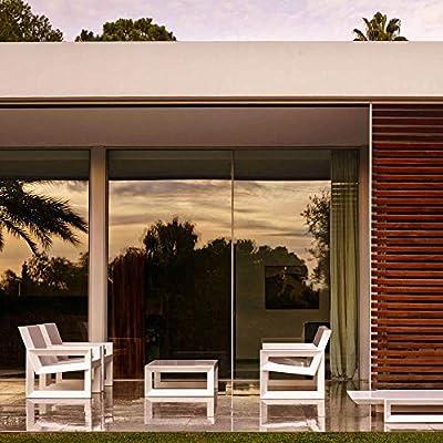 Vondom Frame banco de exterior blanco: Amazon.es: Jardín