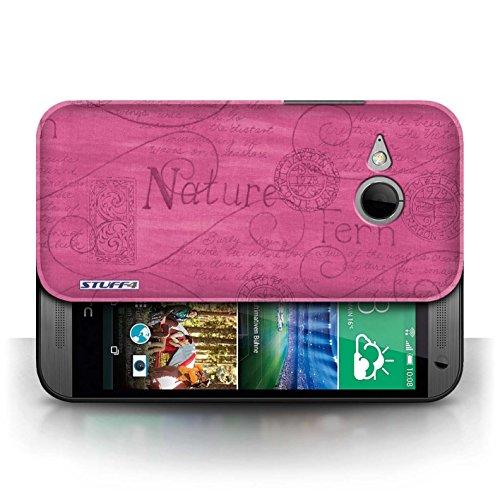 Etui / Coque pour HTC One/1 Mini 2 / Rose conception / Collection de Motif Nature