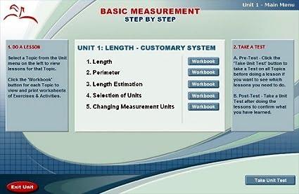 Amazon.com: Math Course Series: Basic Measurement Step By Step