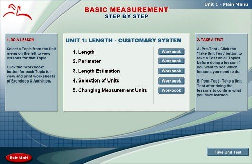 Amazon.com: Math Course Series: Basic Measurement Step By Step