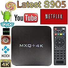 MXQ Pro 4K Android 7.1 TV Box S905X Quard-core 1G+8G Wi-Fi Embedded UHD 4K H.264 Media Center Smart OTT TV Box