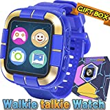 [2019 NEW]Kids Game Smart Watch for Boys Girls, 1.5' Touch Digital Wrist Phone Watch with Camera Messaging Pedometer Fitness Tracker Alarm Flashlight Children Electronic Learning Toy Birthday Gifts