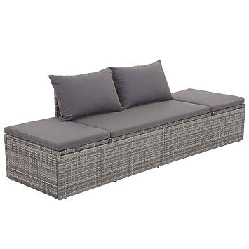 Amazon.com: HomeDecor - Sofá de mimbre para salón, para ...